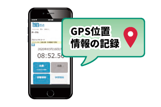 GPSで場所の把握